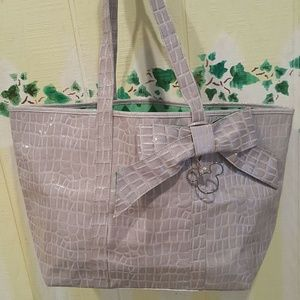 Walt Disney World Mickey Mouse Tote Bag Silver